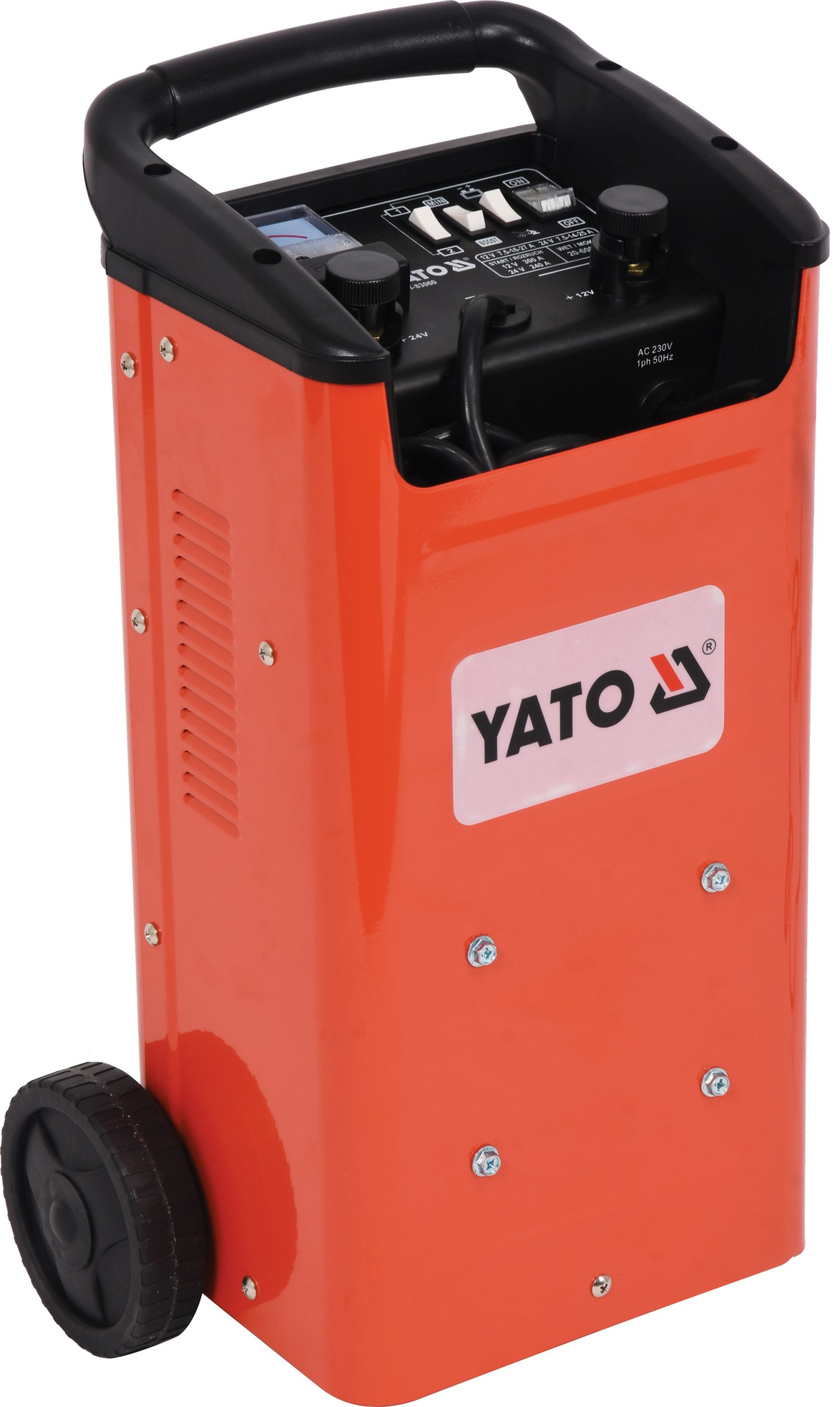 YATO YT-83060 Nabíječka s funkcí startovací stanice 12V-300A / 24V-240A