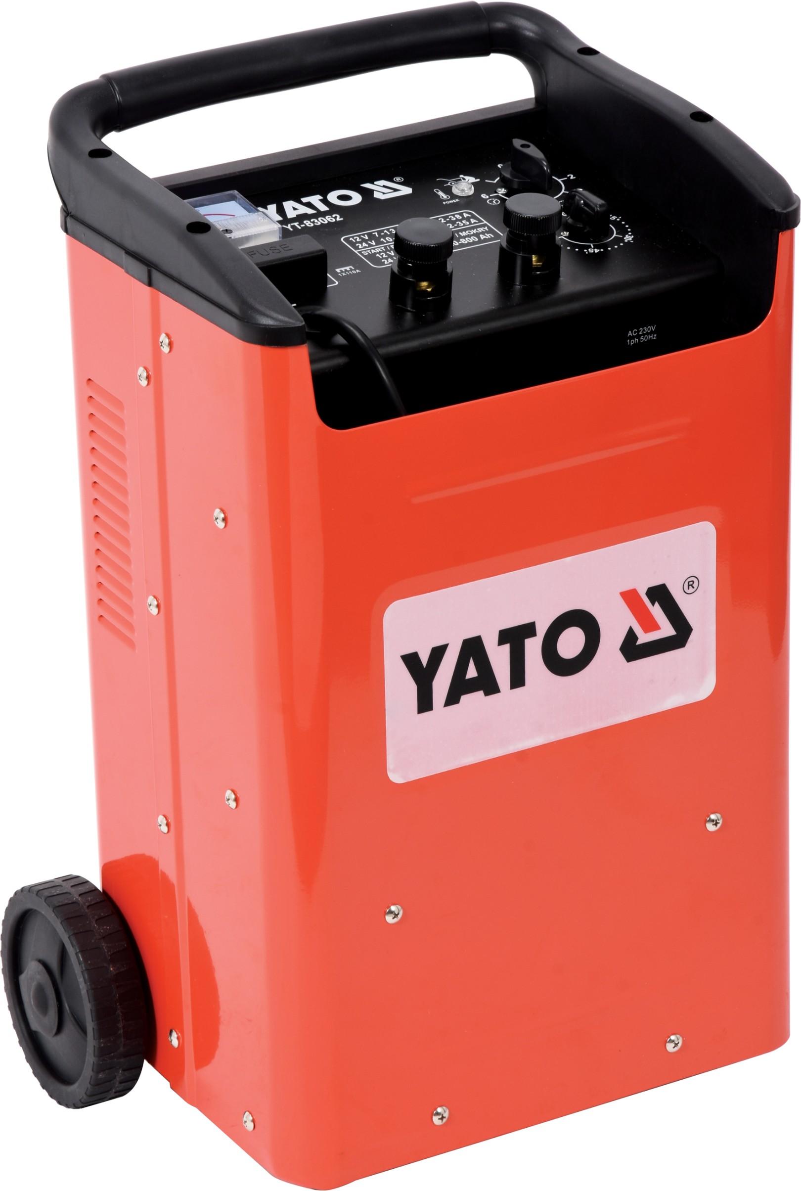 YATO YT-83062 Nabíječka s funkcí startovací stanice 12V-540A / 24V-450A