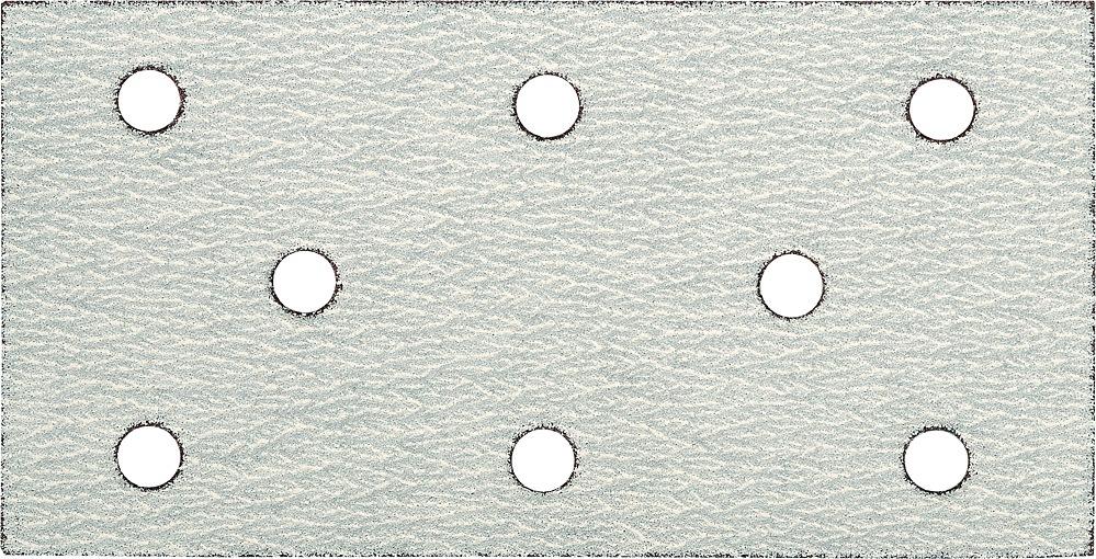 Brusný papír 93x180 mm P180 s otvory 5ks suchý zip
