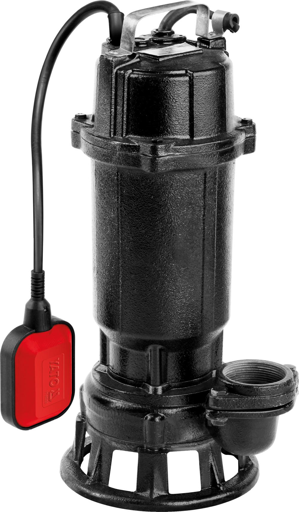 Kalové čerpadlo 750W s drtičem
