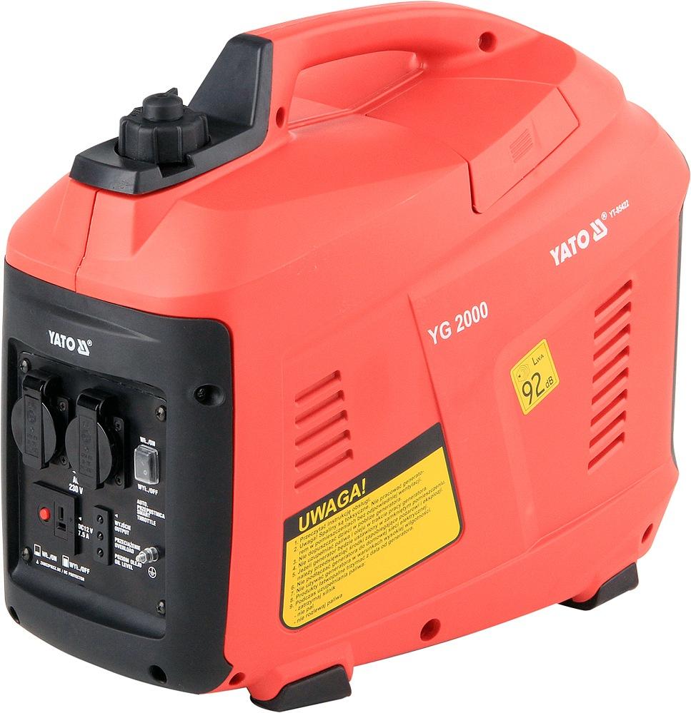 Elektrocentrála - benzínový generátor 1,6kW