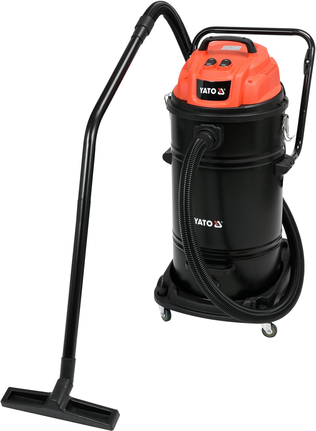 Vysavač průmyslový 70L 2400W suché/mokré vysávání