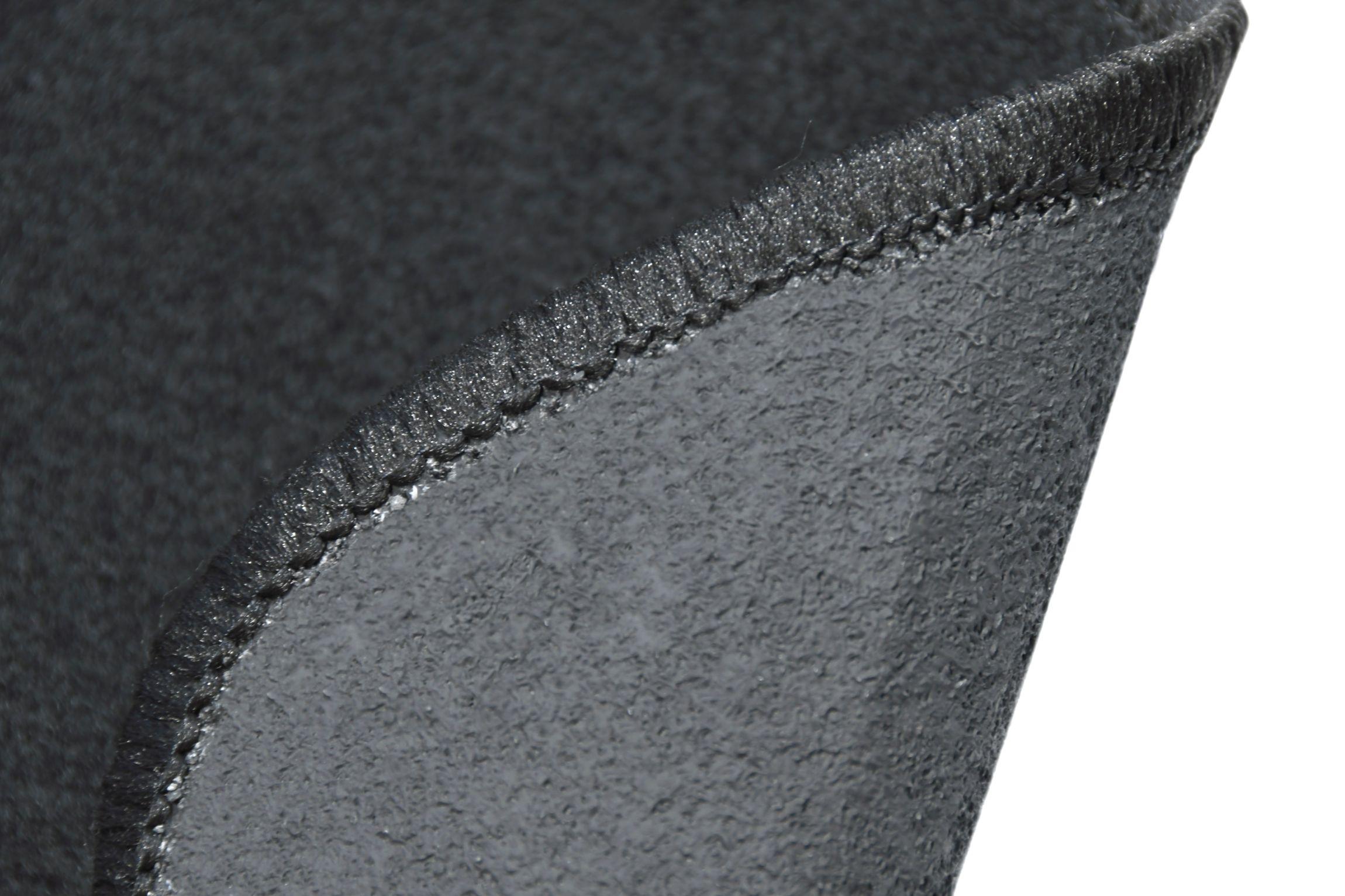 Koberce textilní ATOL  4ks černé