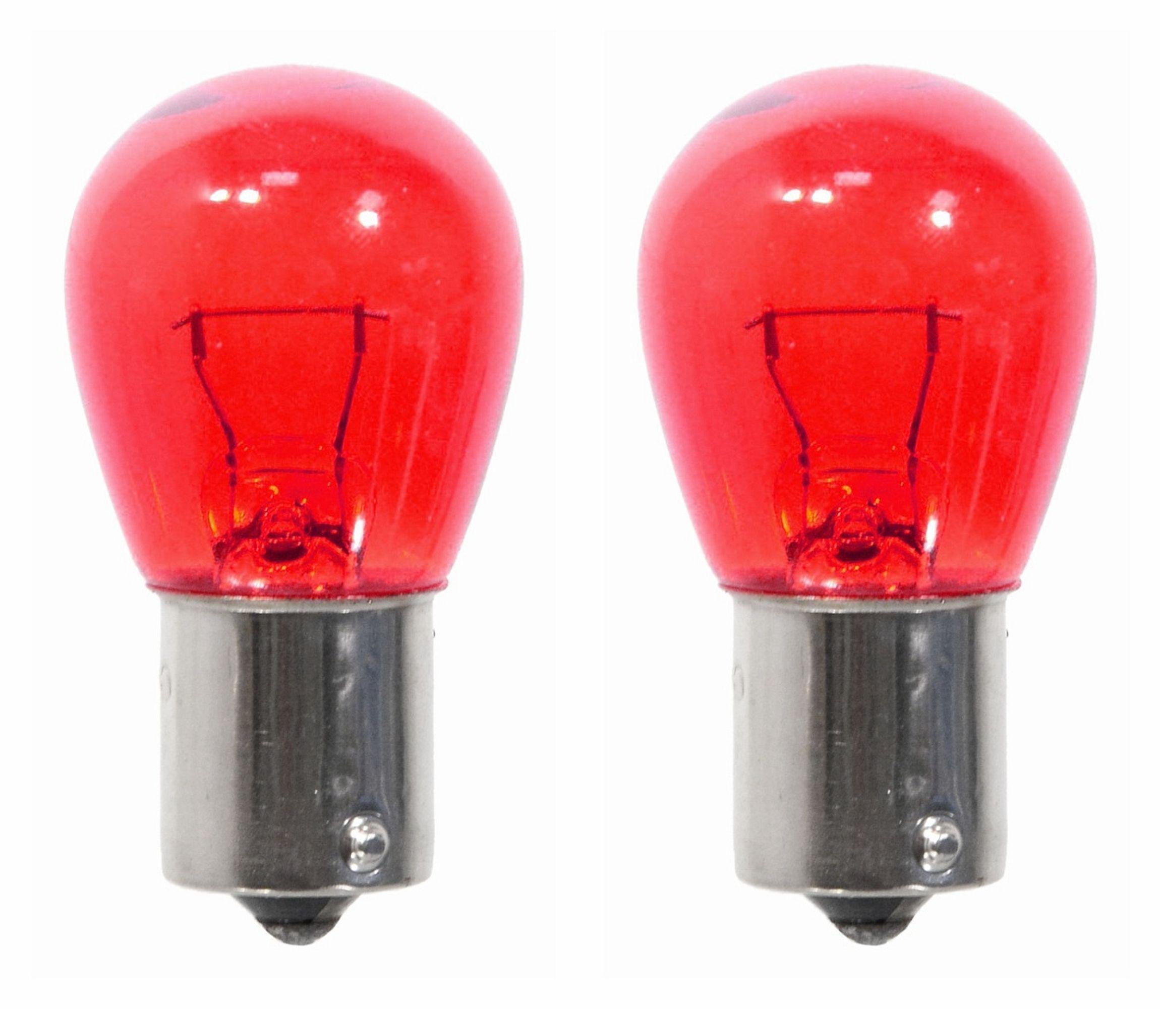 Žárovka červená 12 V 21/5W  BAY5D 2 ks