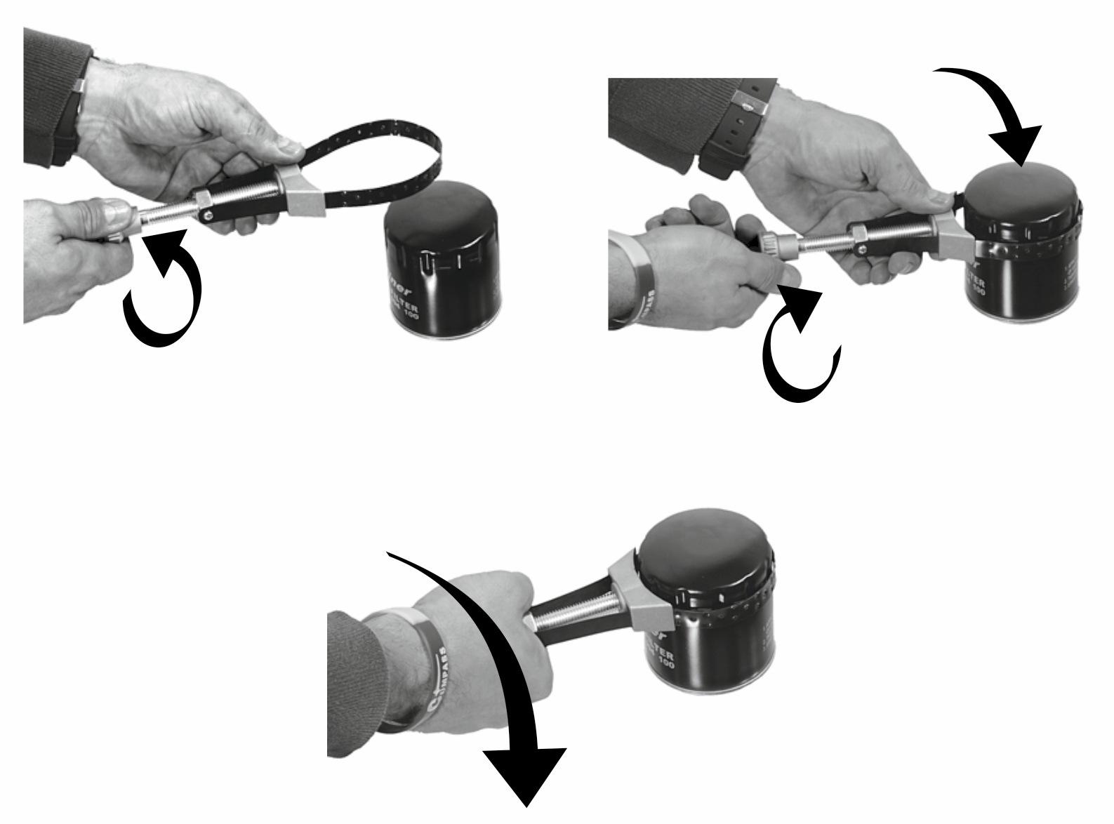 Klíč na olejový filtr / CAR