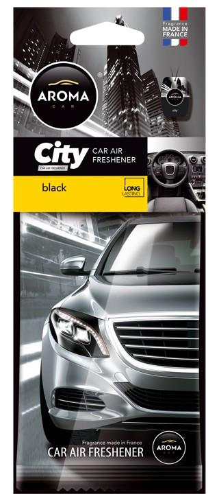 Osvěžovač AROMA CAR CITY BLACK