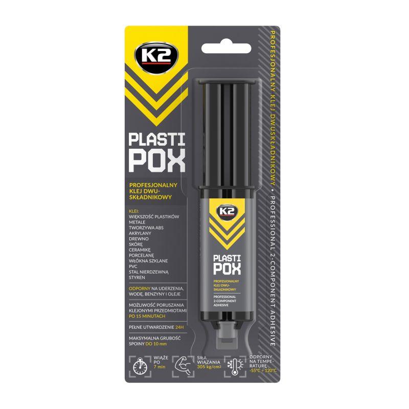 K2 PLASTIPOX 25g - profesionální epoxidové lepidlo