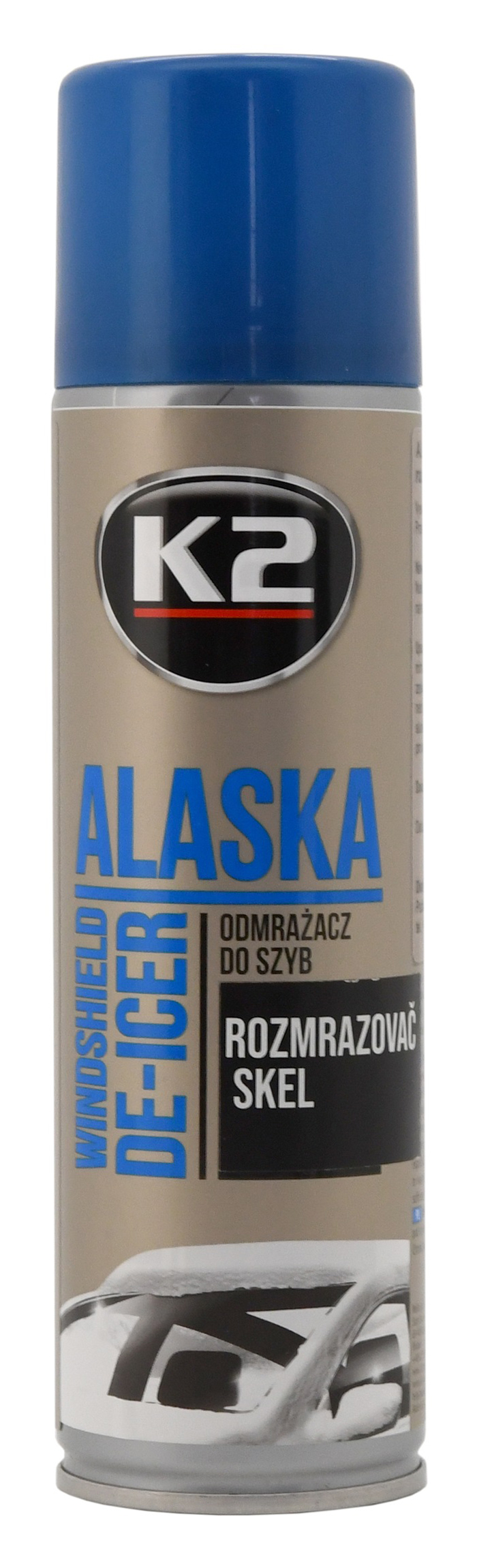 K2 ALASKA 250ml - rozmrazovač skel