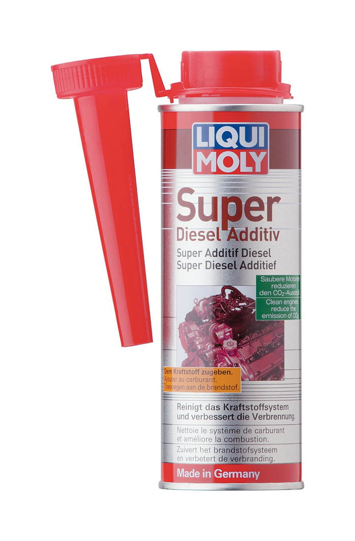 Přísada do nafty 250ml. LIQUI MOLY - SUPER DIESEL ADITIV 5120
