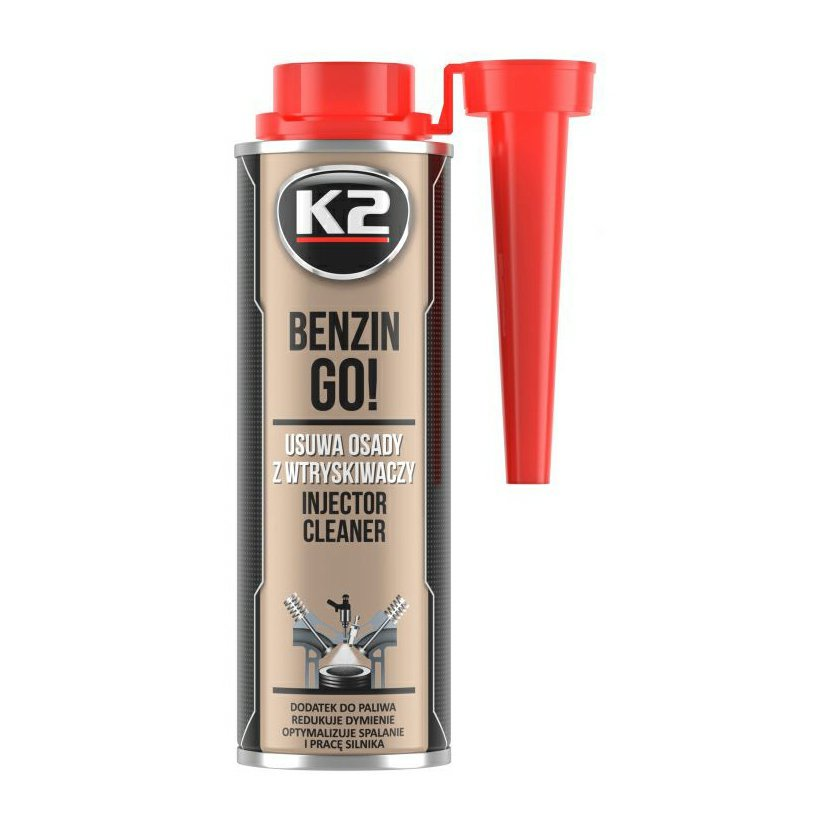 K2 BENZIN GO 250 ml - aditivum do paliva