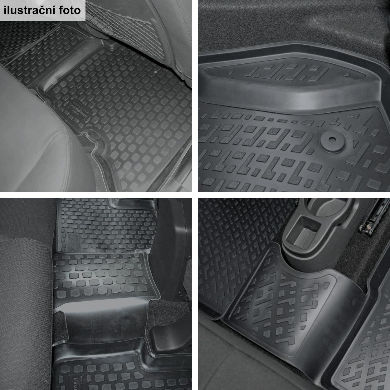 Koberce přesné Škoda Rapid Sedan / Liftback [NH] (12-)