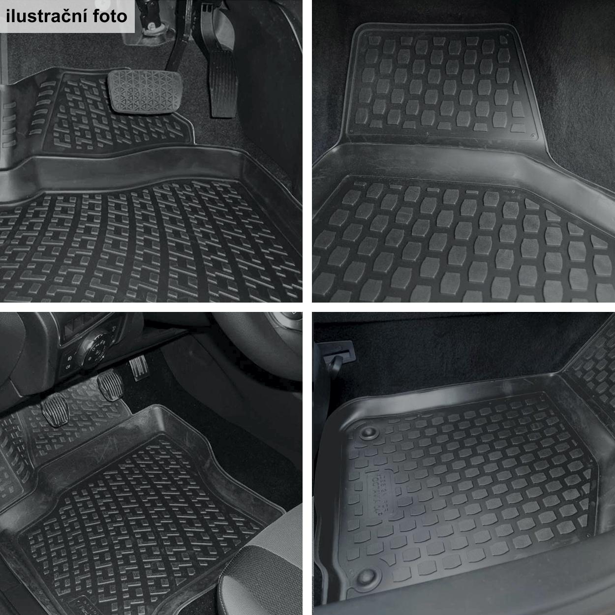 Koberce přesné Škoda Superb III (15-)