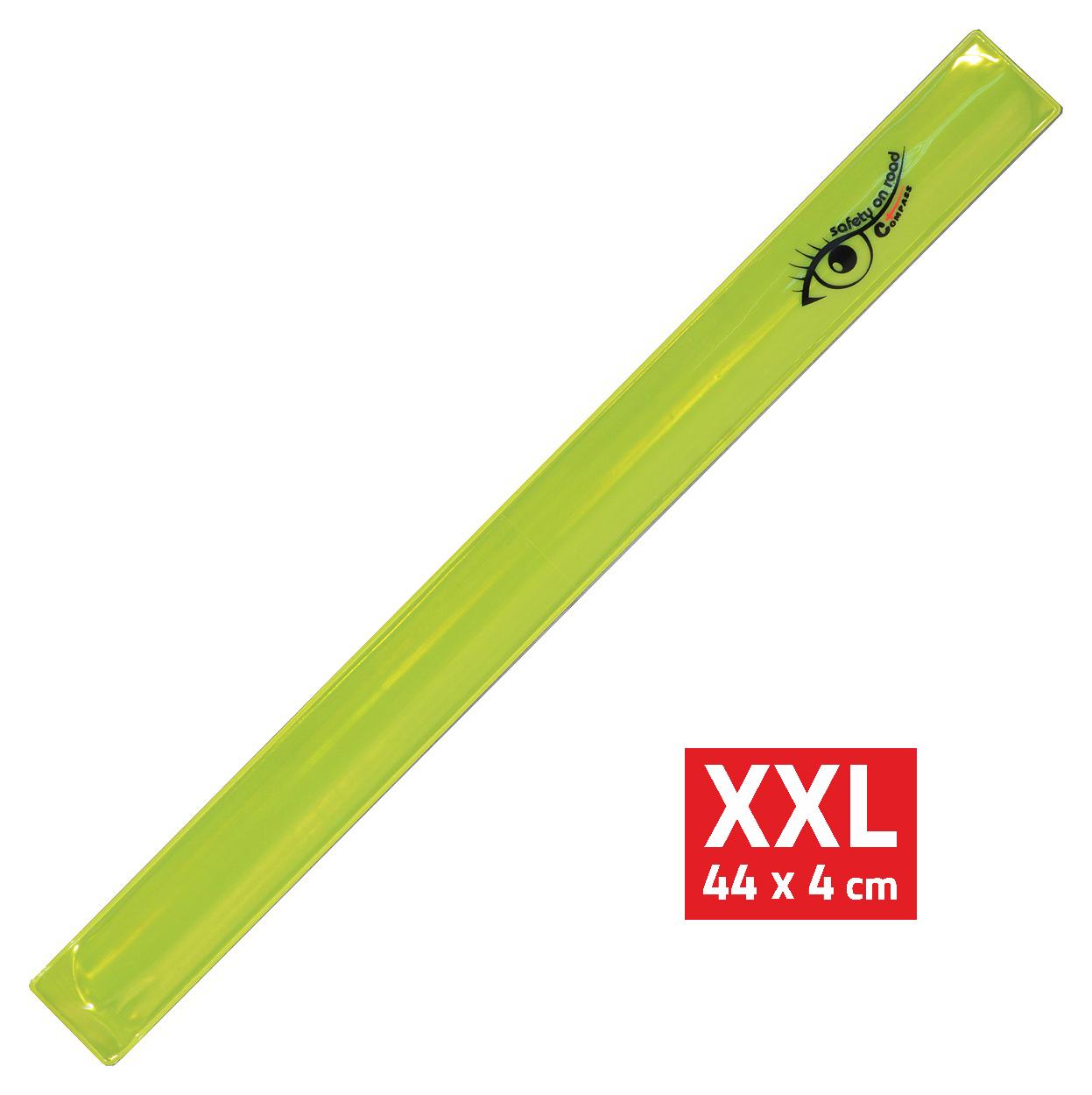 Pásek reflexní ROLLER XXL 4x44cm S.O.R. žlutý
