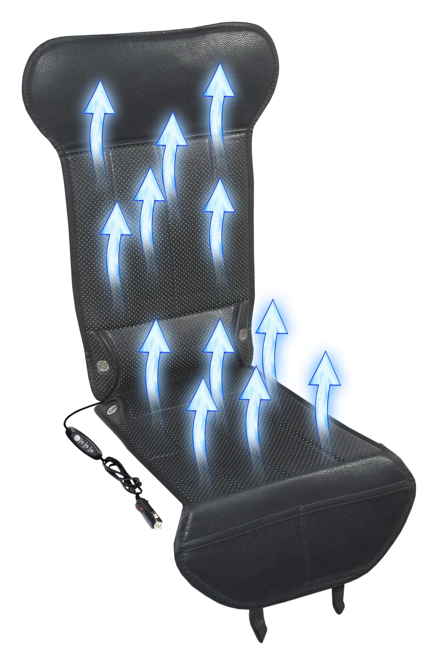Potah sedadla s ventilací 12V STRICK AIR black