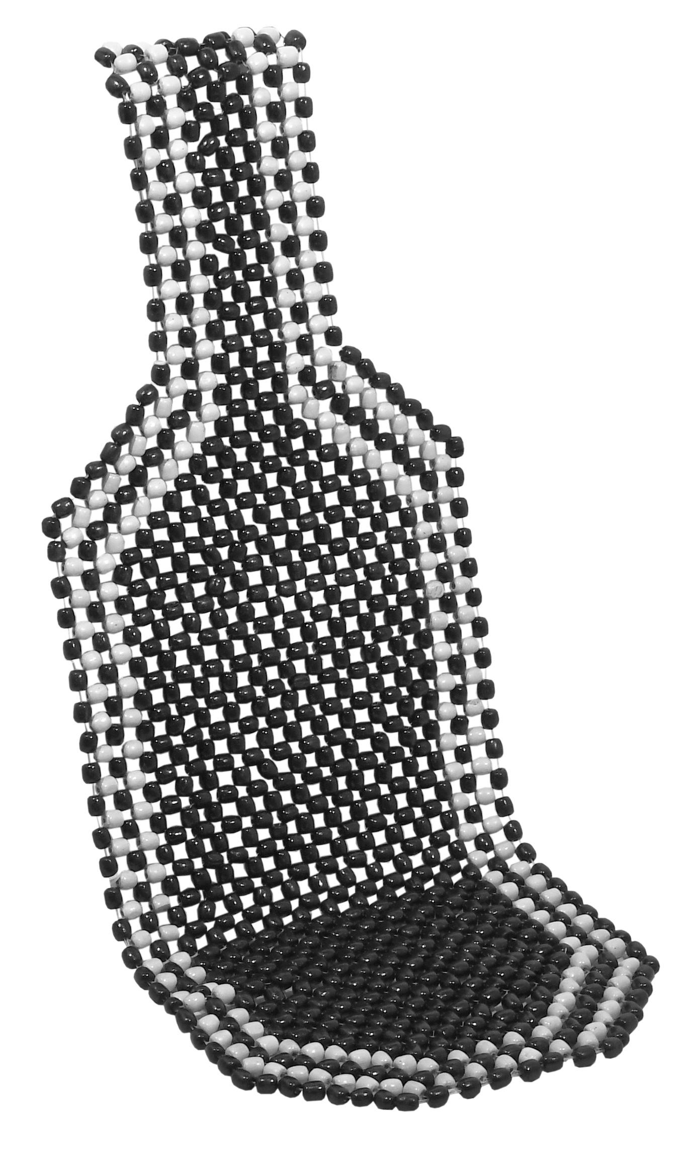 Potah sedadla kuličkový BLACK 127x38cm