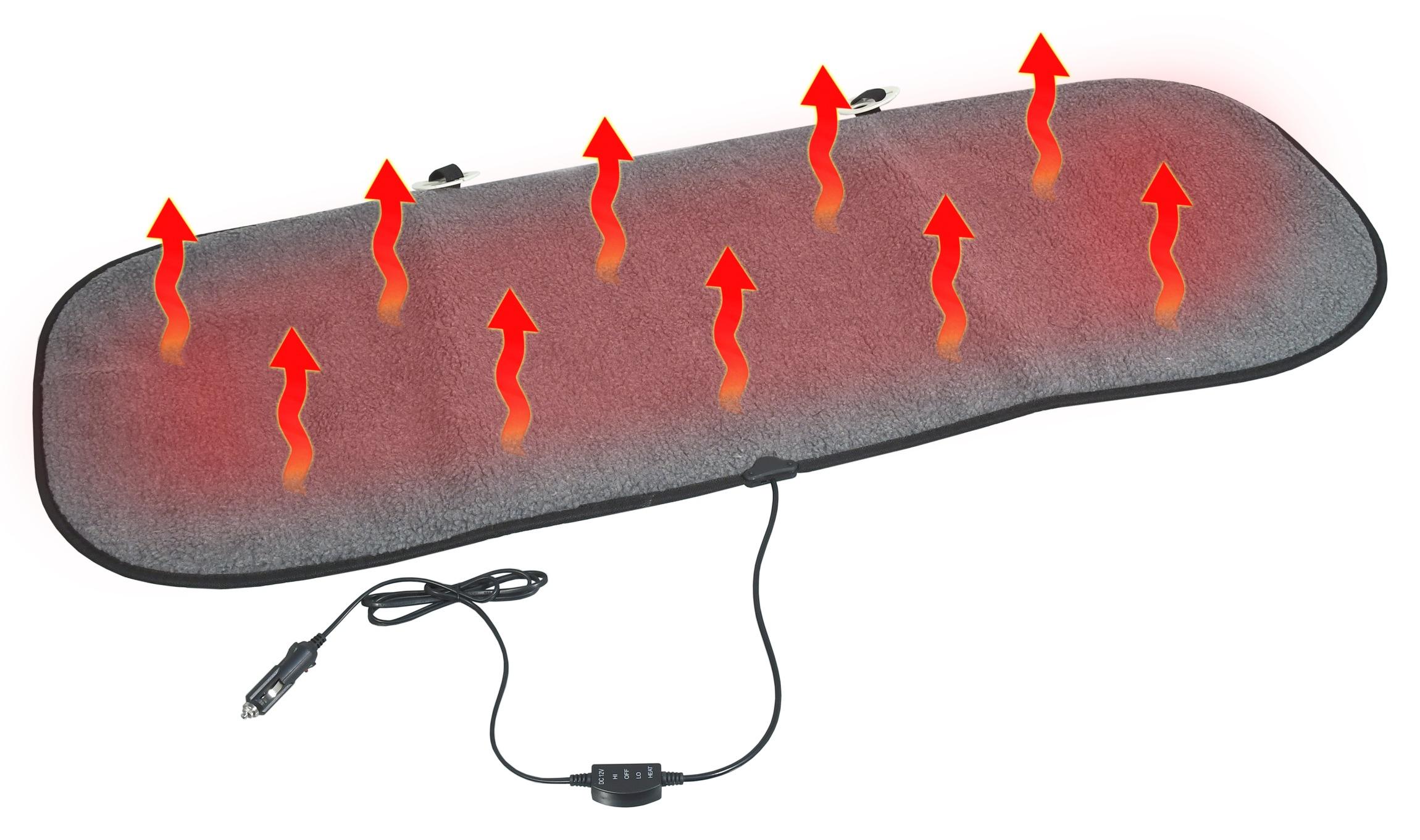 Potah sedadla vyhřívaný s termostatem 12V TEDDY zadní