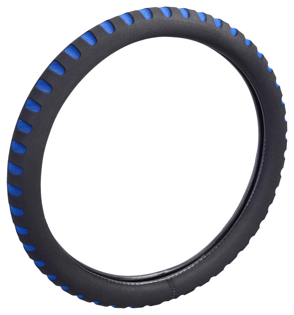 Potah volantu SOFT modrý