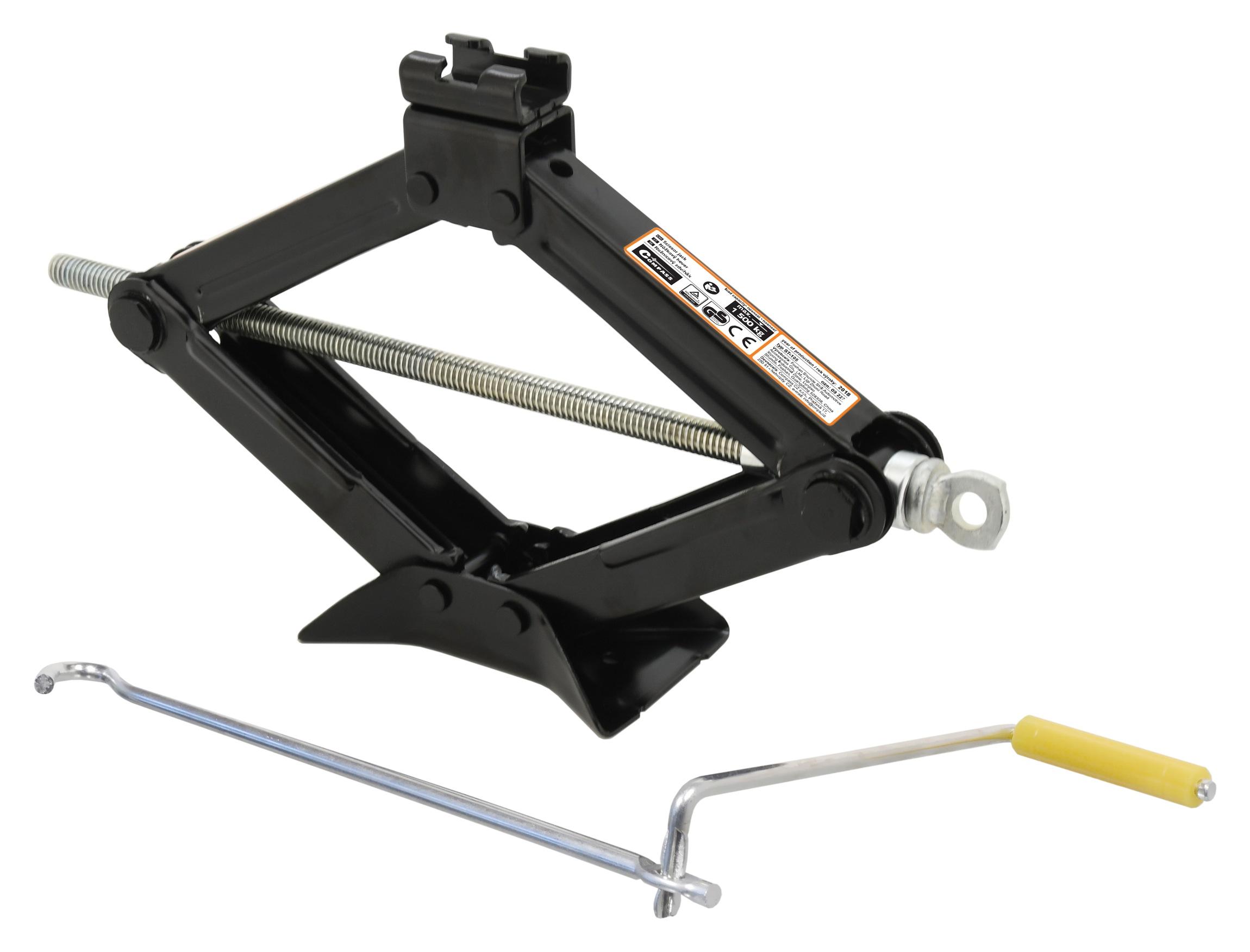 Hever nůžkový 1500 kg  TÜV. GS. CE