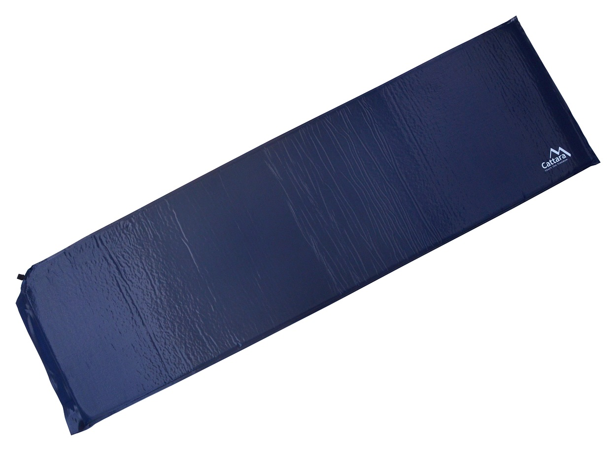 Karimatka samonafukovací 186x53x2.5cm modrá