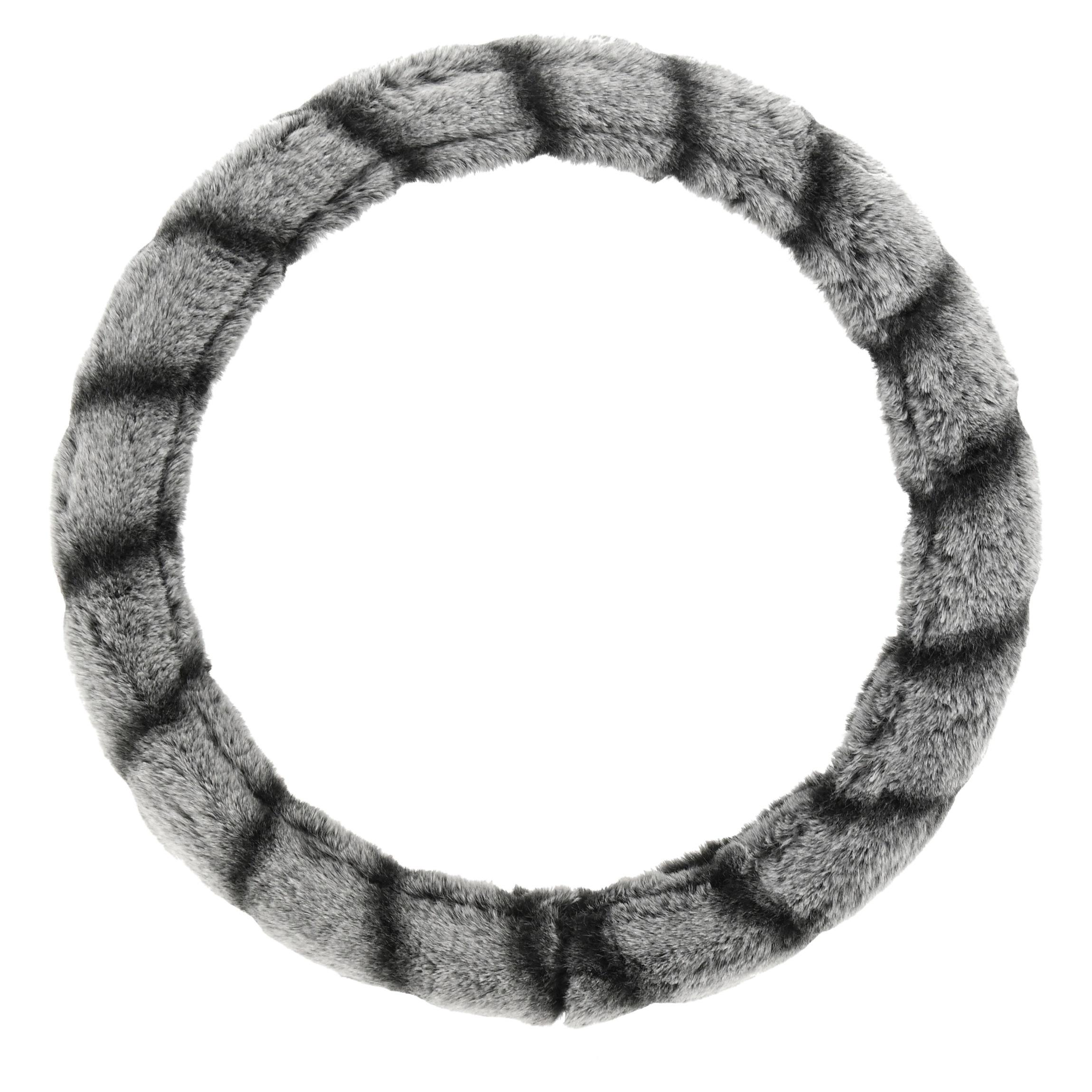Potah volantu LEMUR šedý