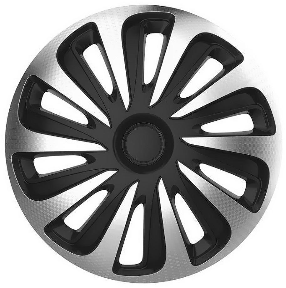 "Kryty kol 15"" CALIBER Carbon (sada) silver/black"