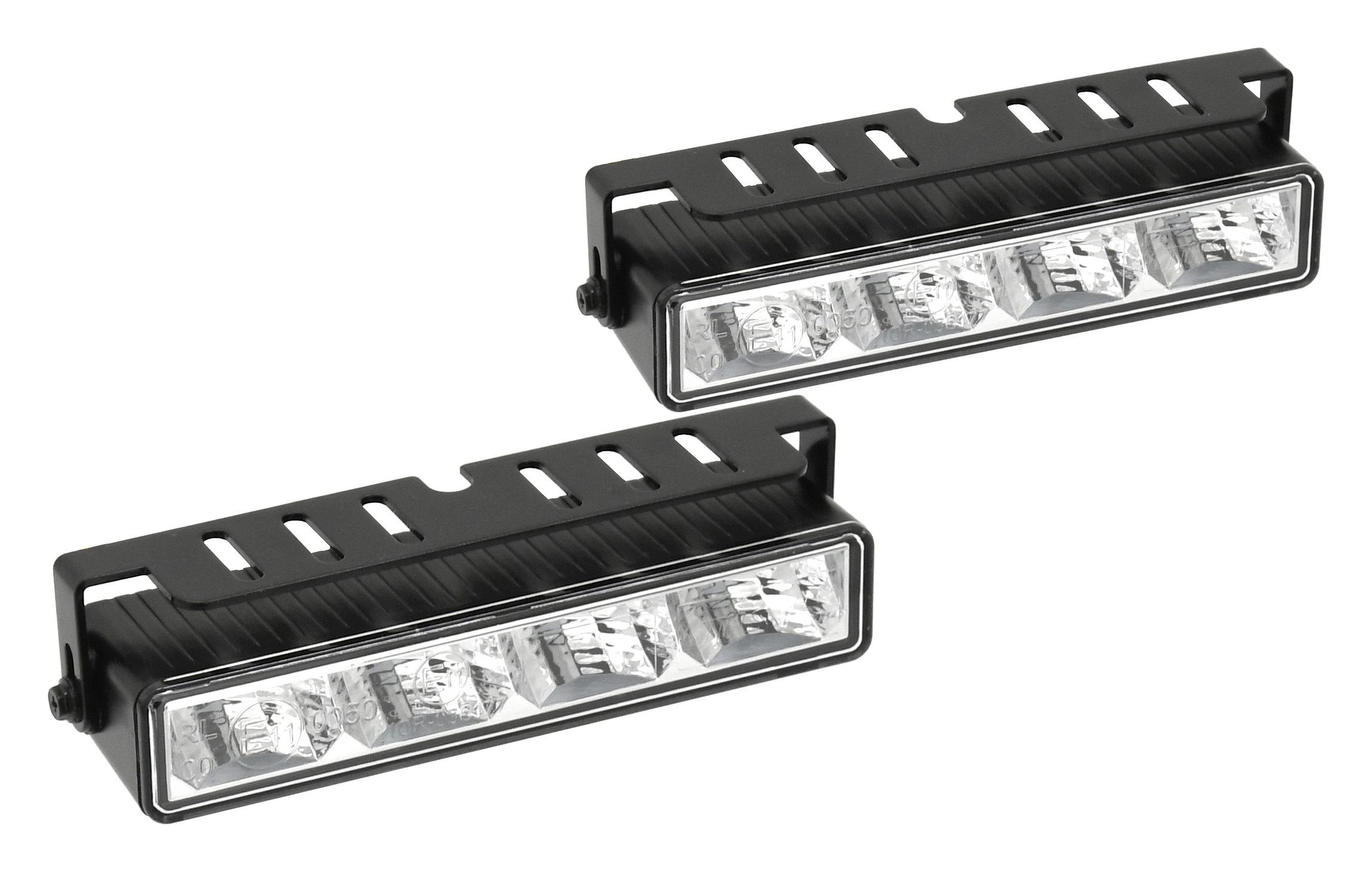 Světla denního svícení 4 HIGH POWER LED 12V/24V