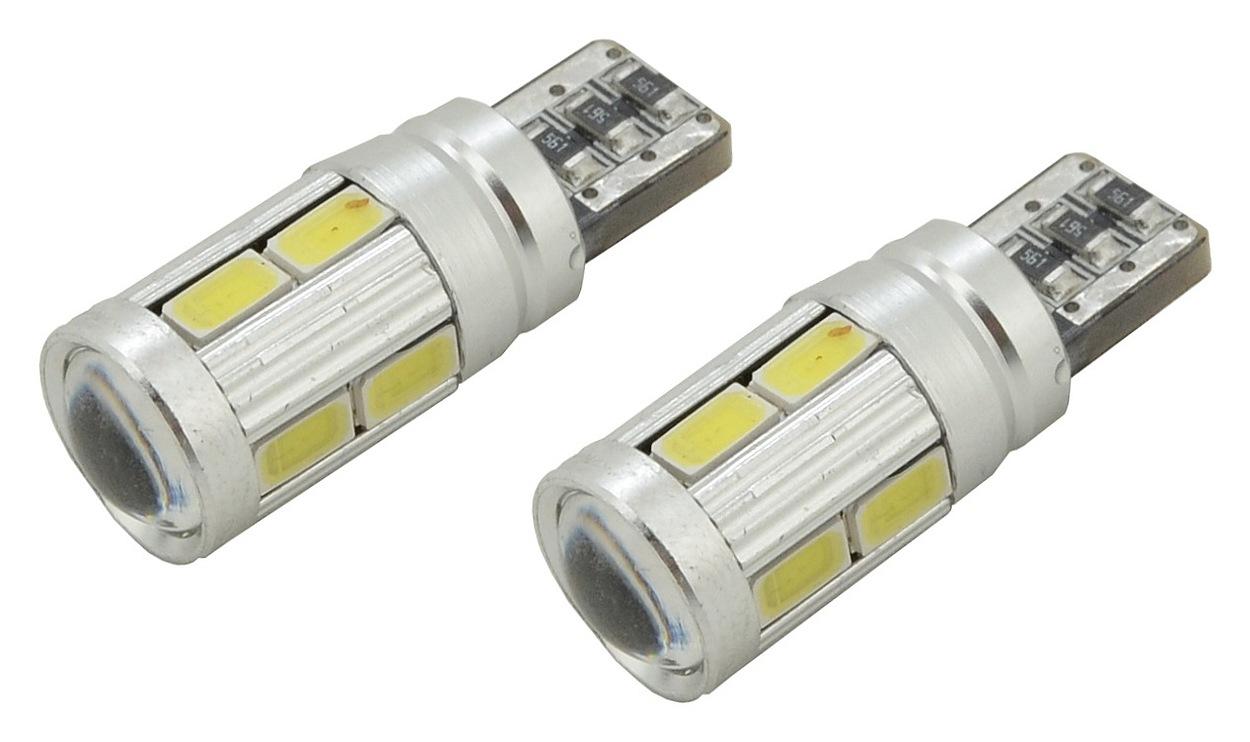 Žárovka 10 SMD LED 3chips 12V T10 CAN-BUS ready bílá 2ks