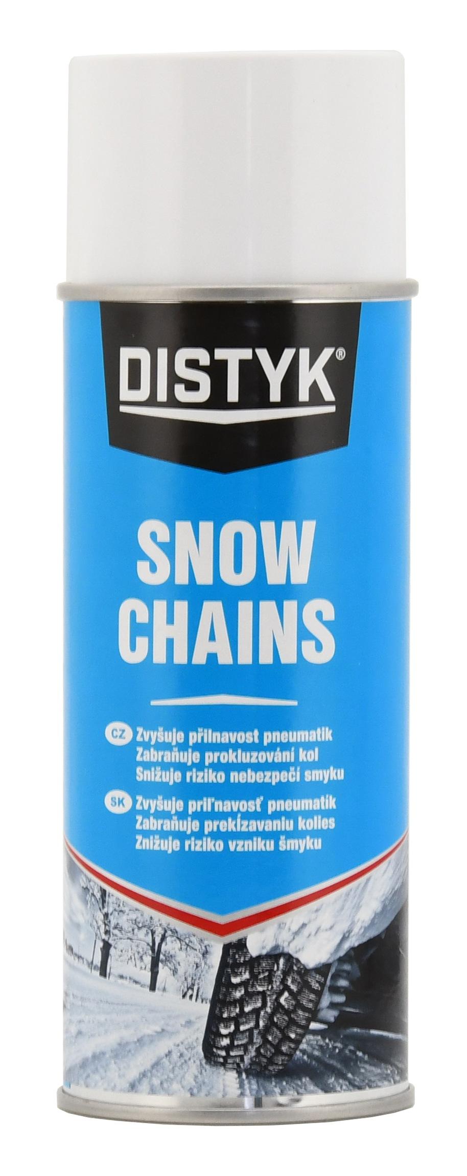 Sněhové řetězy ve spreji 400 ml