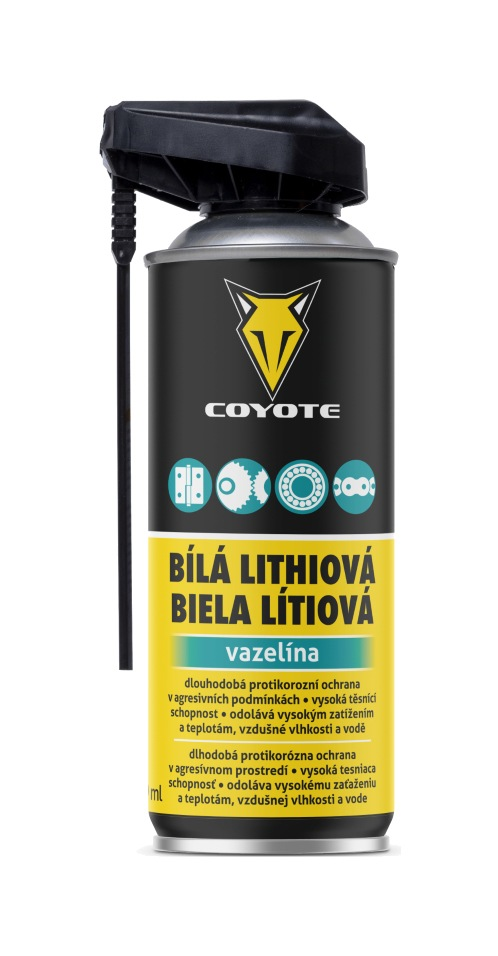 Coyote Bílá lithiová vazelína 400ml