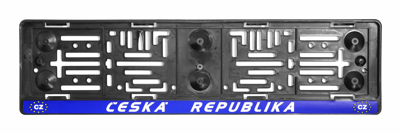 Podložka pod SPZ  ČR-EU