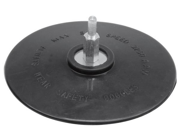 Talíř leštící/brousící 125 mm