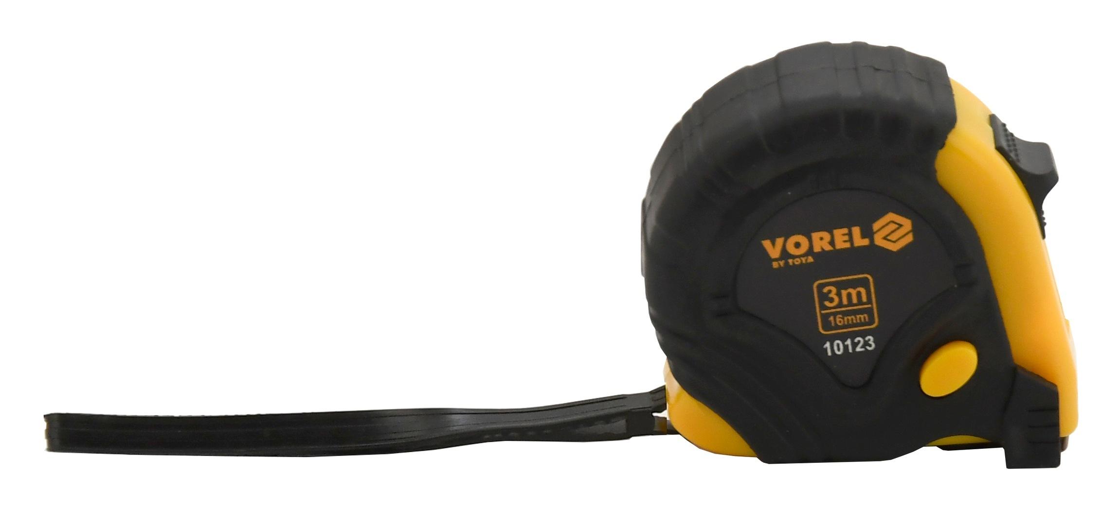 Metr svinovací 3 m x 16 mm žluto - černý