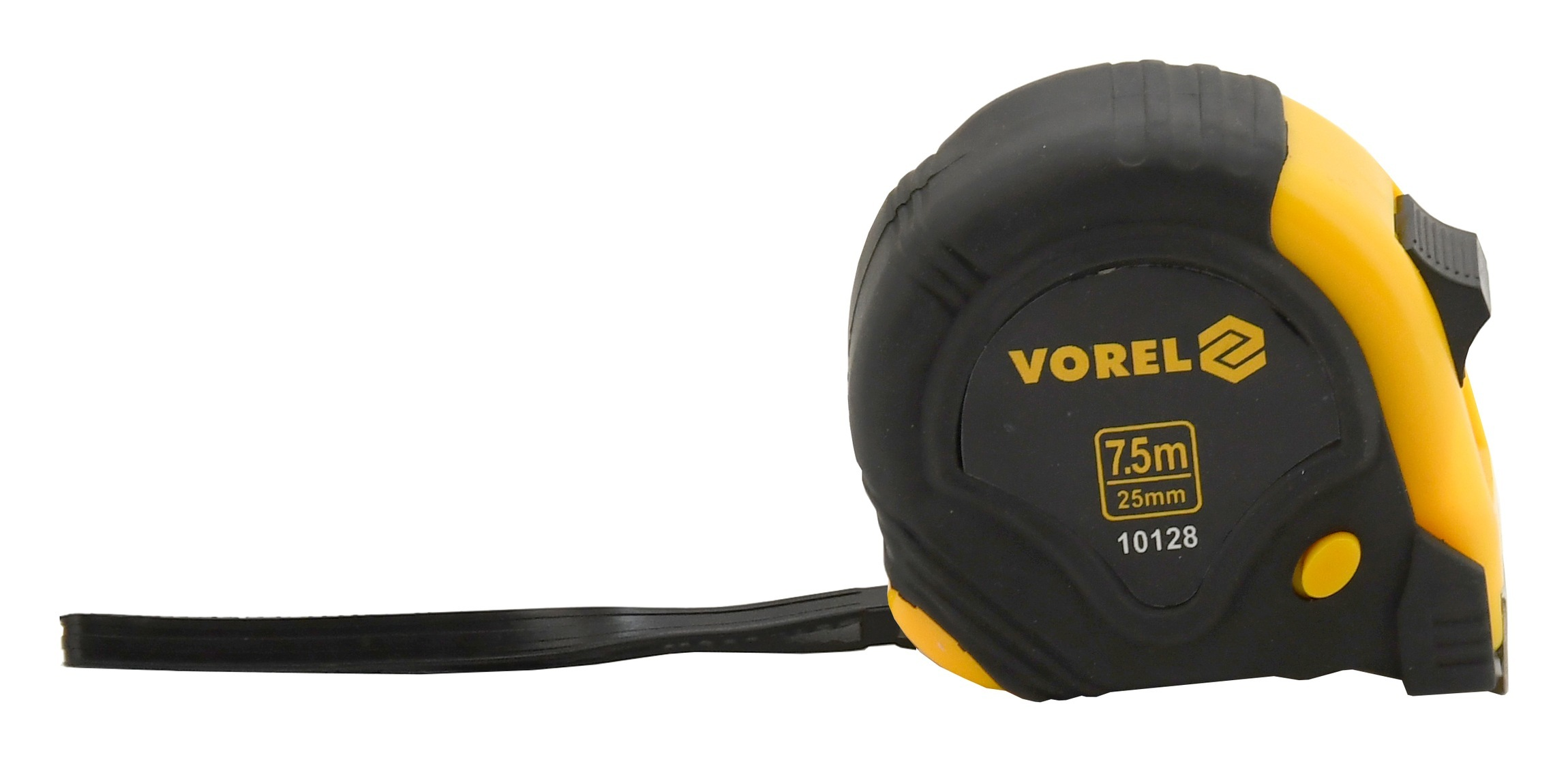 Metr svinovací 7,5 m x 25 mm žluto - černý