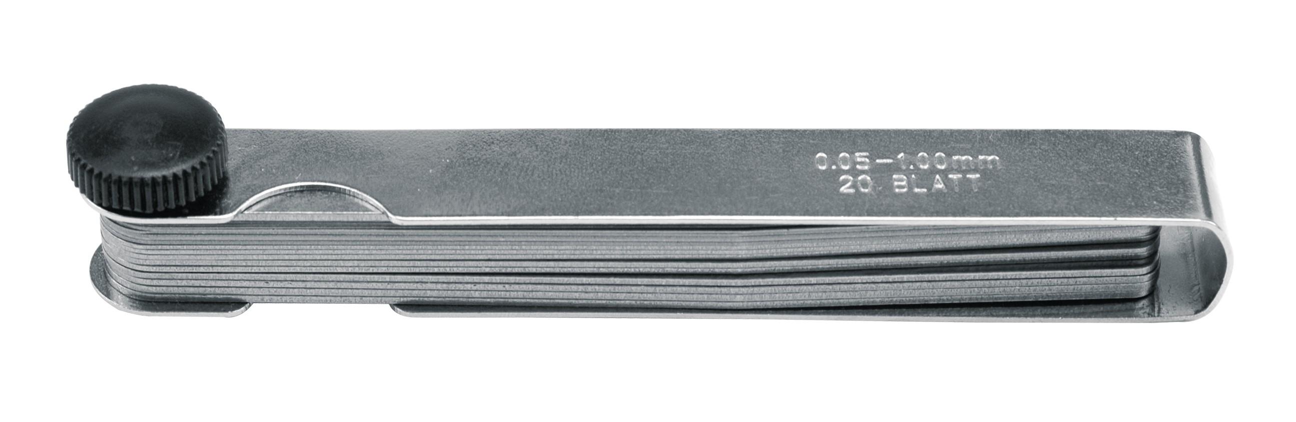 Měrka na spáry 0,05 - 1,00 mm 20 ks