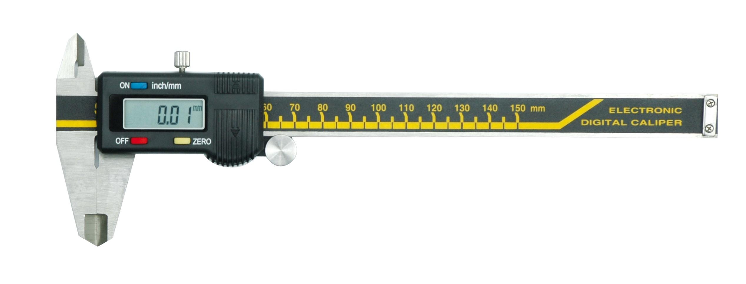 Měřítko posuvné 150 x 0,01 mm elektronické