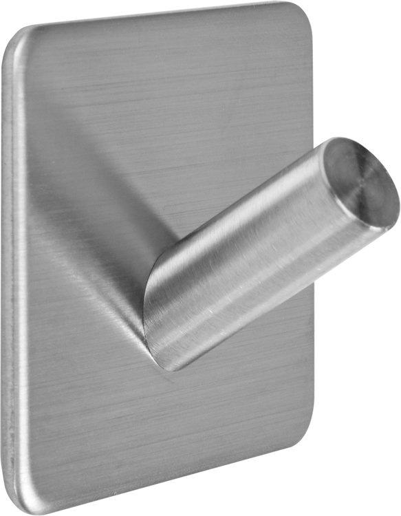 Jednoduchý háček úhlový nalepovací 3M Steely