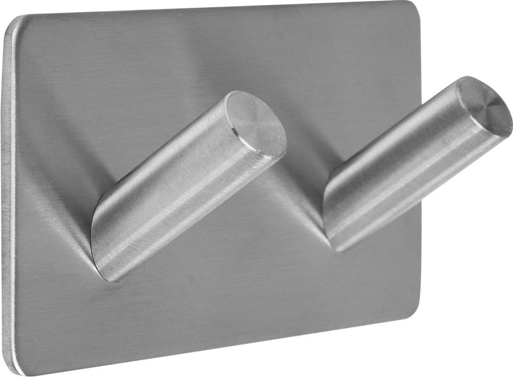 Dvojitý háček úhlový nalepovací 3M Steely