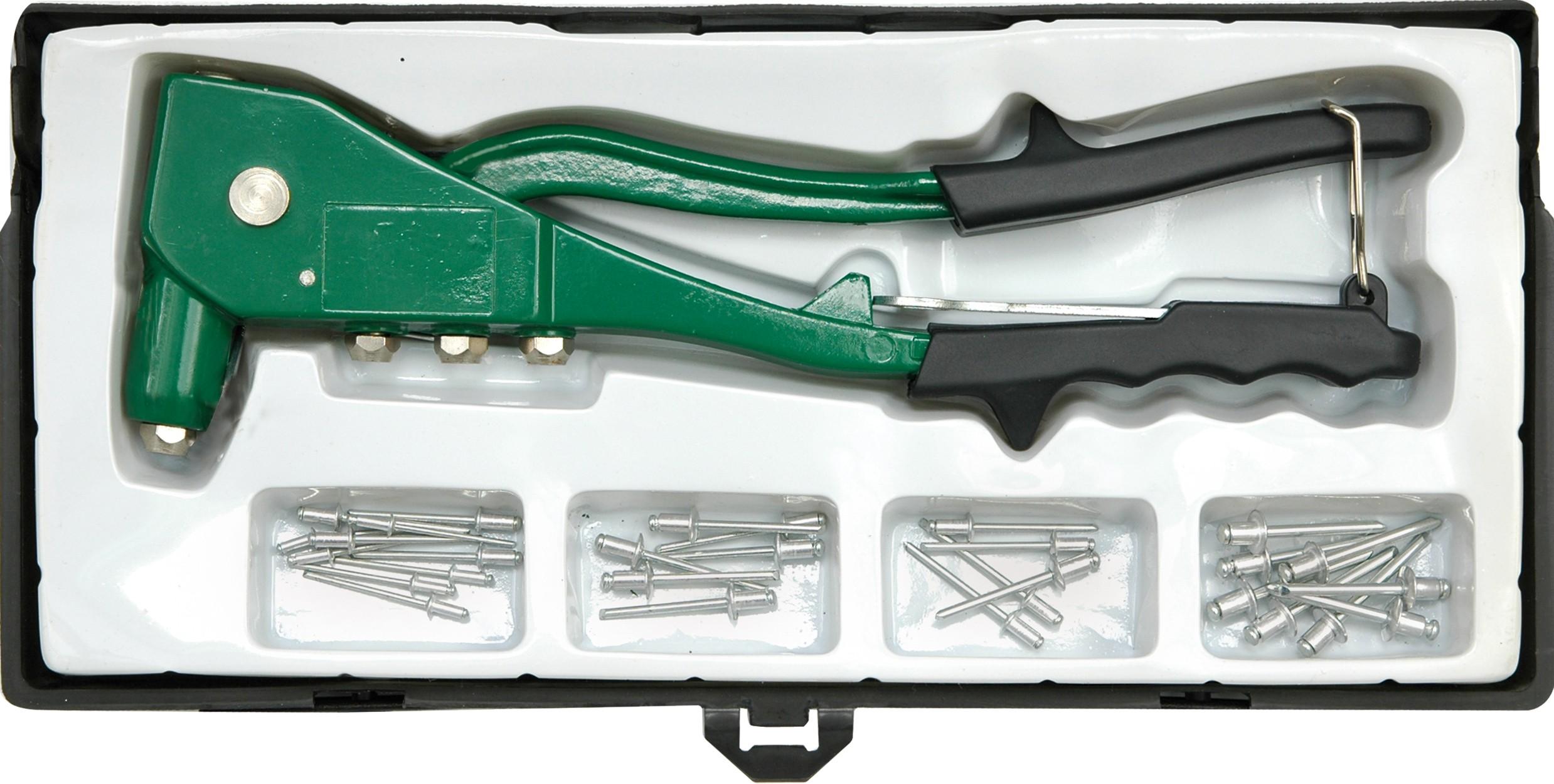 Nýtovačka ruční 250 mm + nýty