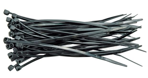 Páska stahovací 430 x 4,8 mm 100 ks černá