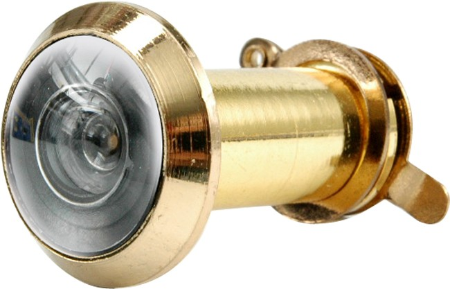Kukátko do dveří 35 - 50 mm 200° zlaté
