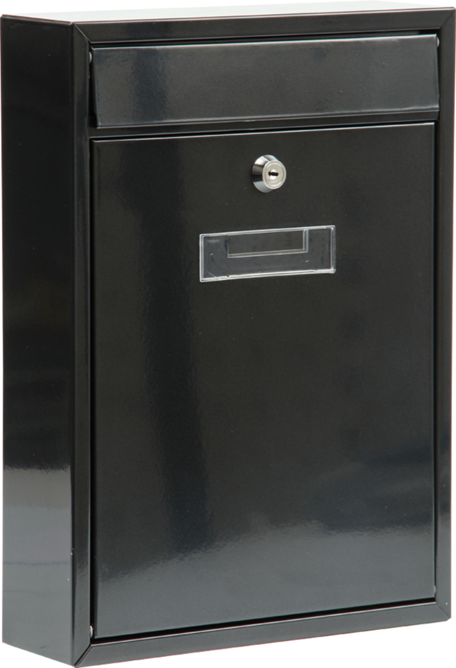 Poštovní schránka 360x260x80mm černá