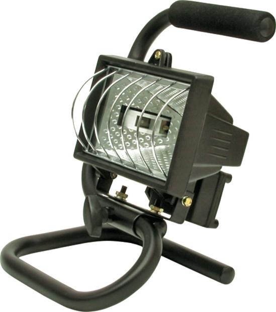 Lampa halogenová 400 W přenosná