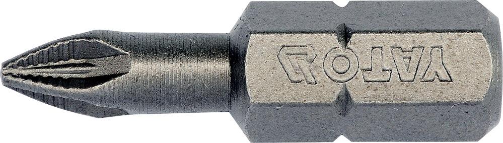 """Bit křížový 1/4"""" PZ1 x 25 mm box NON-SLIP 10 ks"""