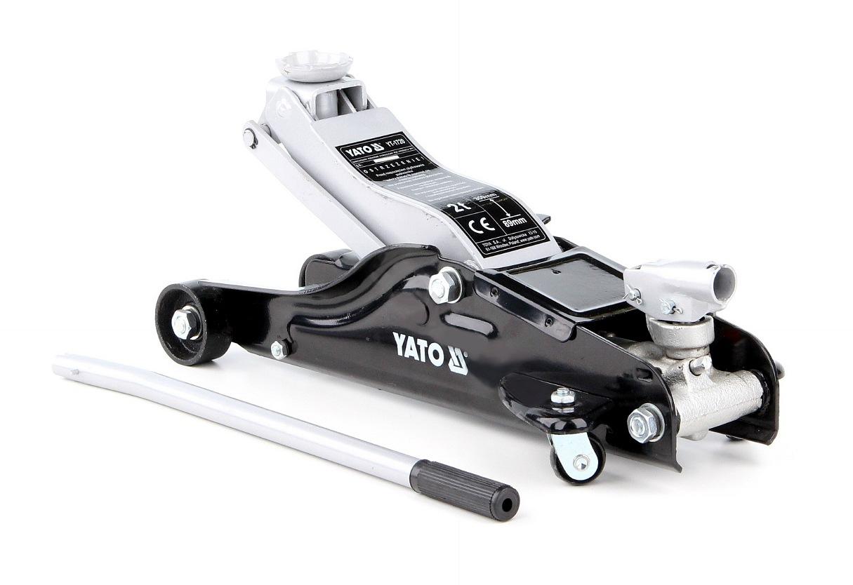 Hever pojízdný hydraulický - nízkoprofilový 2,0T 89-359 mm