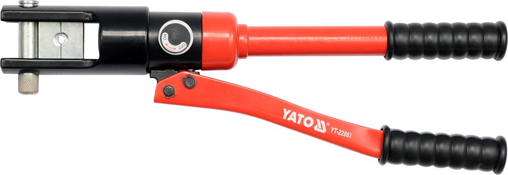 Kleště lisovací na koncovky kabelů Al 16-185mm2. Cu 16-240mm2. 470mm