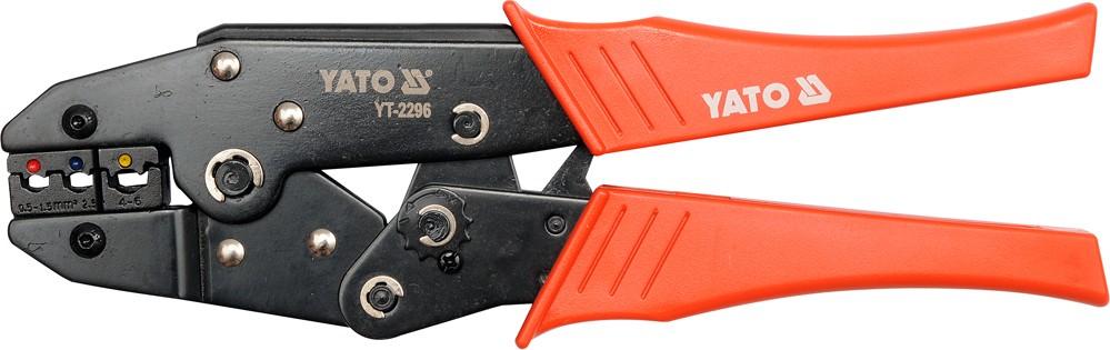 Kleště konektorové 230mm. 22-10(AWG). 0.5-6.00mm2