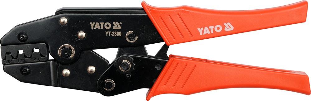 Kleště konektorové 230mm. 20-18(AWG). 0.5-1.00mm2