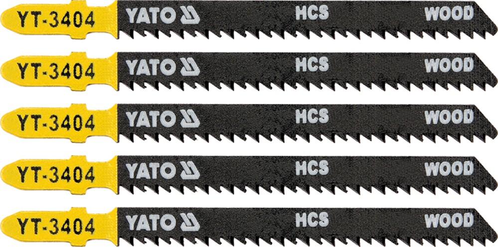 List pilový do přímočaré pily 100 mm na dřevo TPI10 5 ks