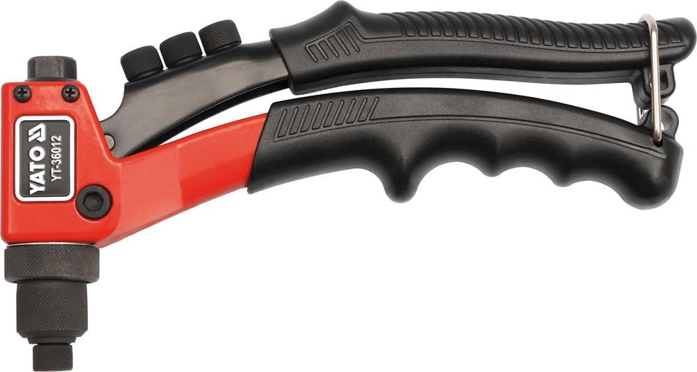 Nýtovací kleště 200mm, nýty 2,4-4,8mm