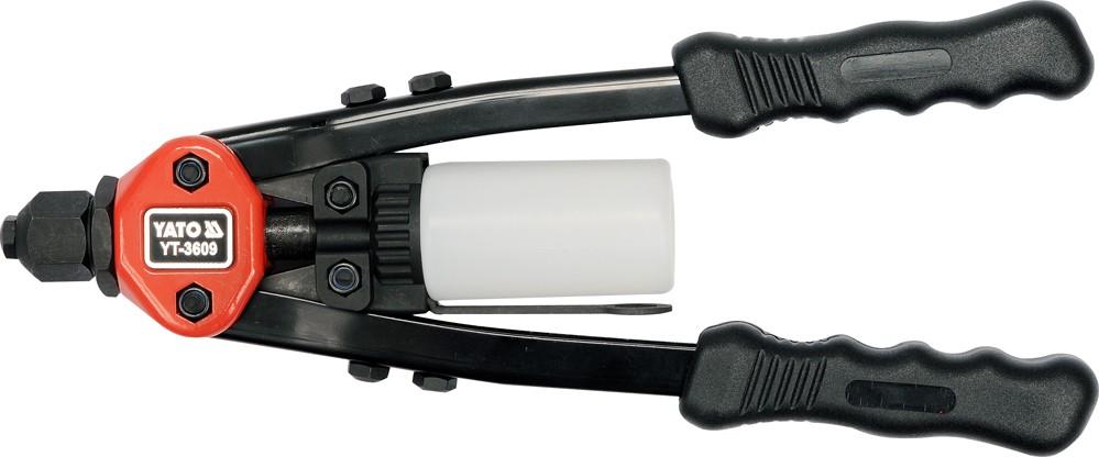 Nýtovací kleště pákové 3,2-6,4mm 330mm CrMo
